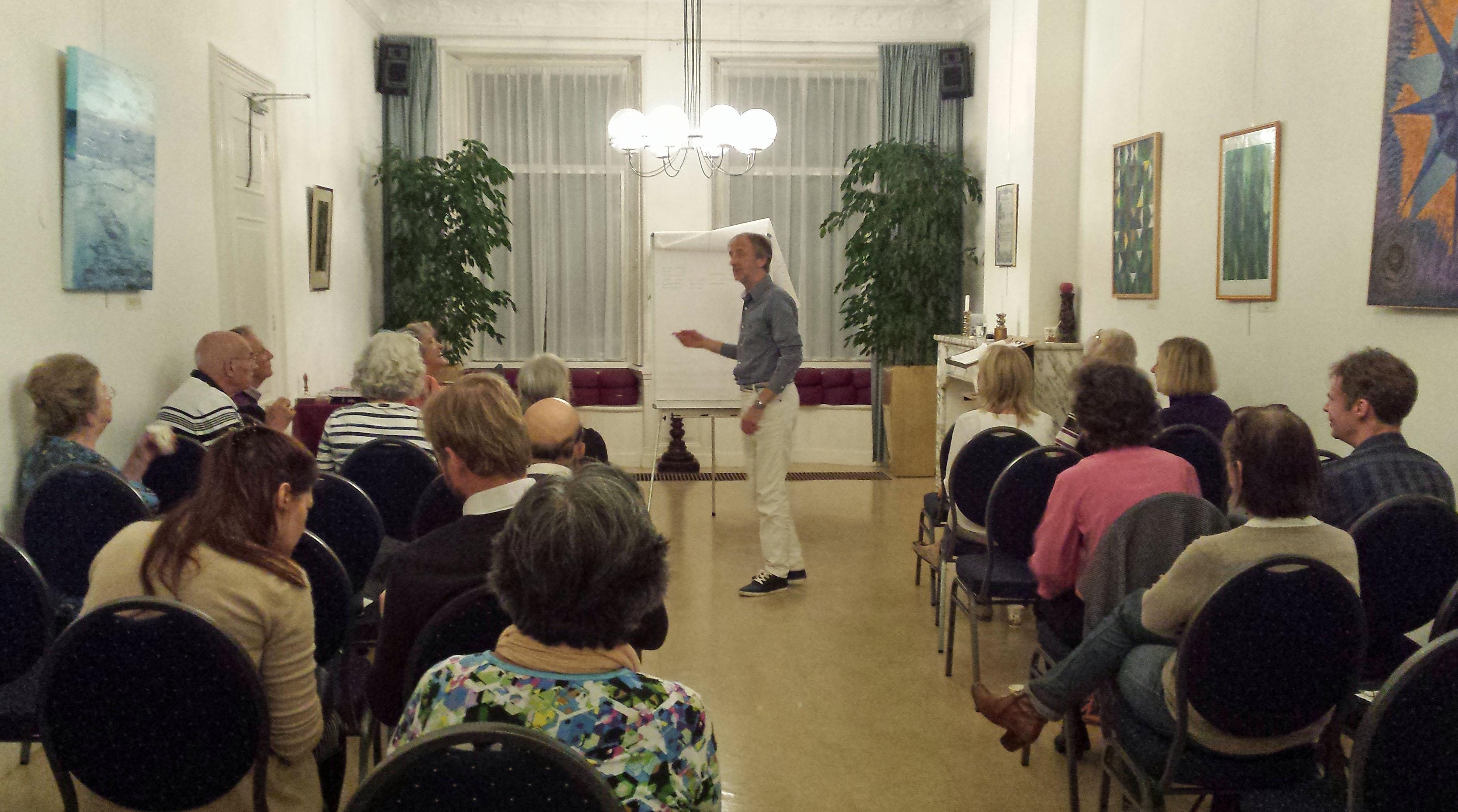 Guido Lamot geeft lezing over I Tjing in de LOge Den haag van de Theosofische Vereniging