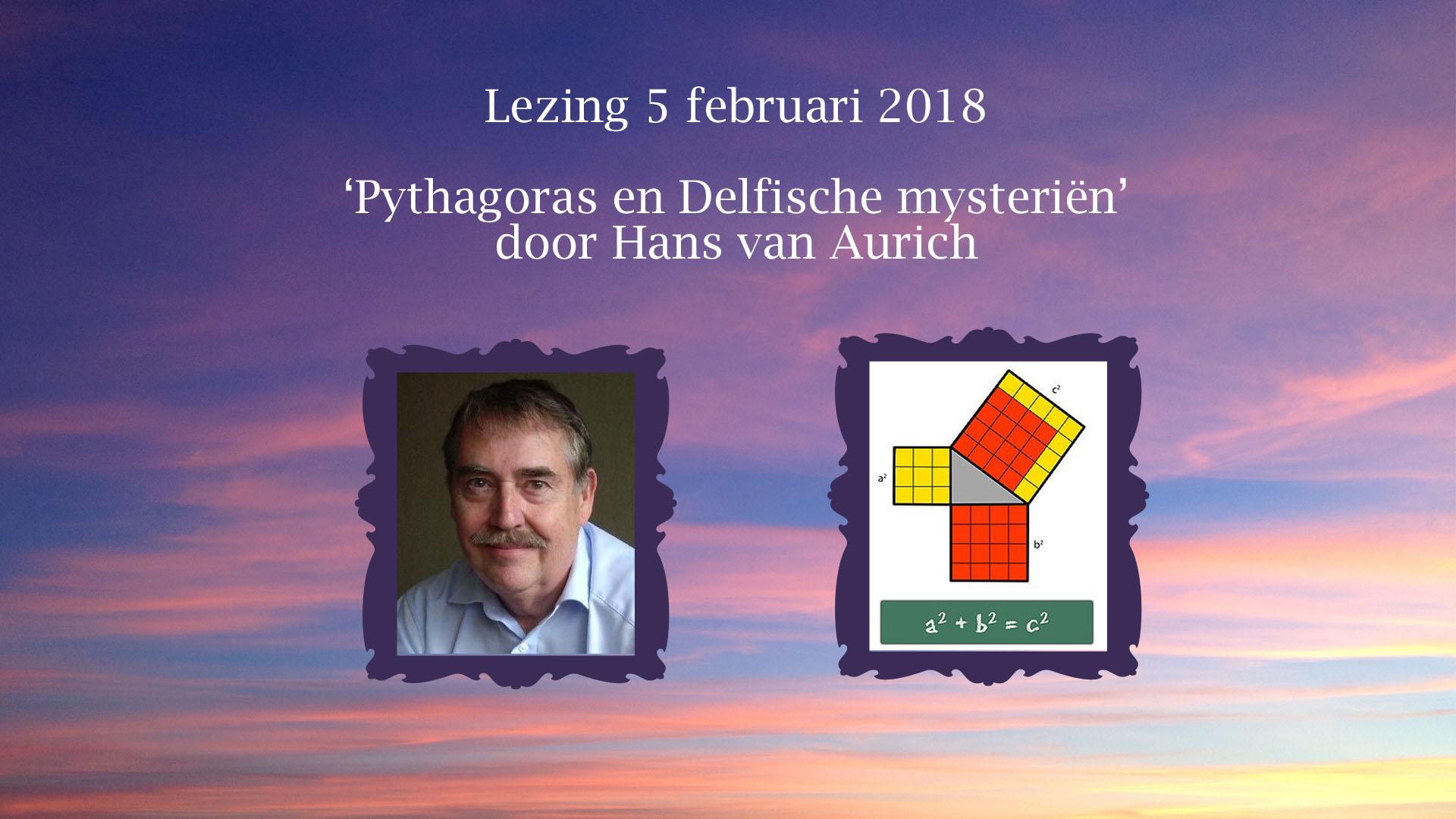 Lezing door Hans van Aurich: Pythagoras en Delfische mysteriën