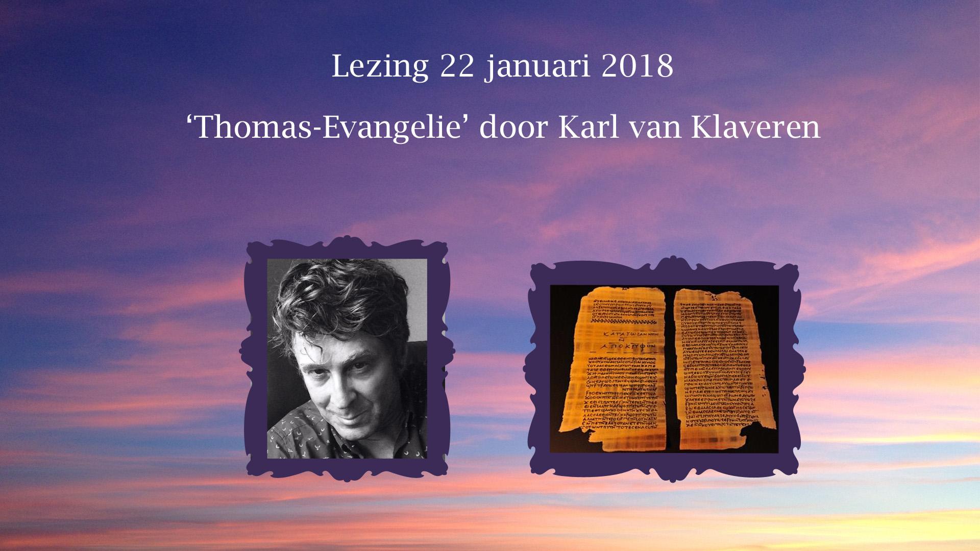 lezing Loge Den Haag Thomas-evangelie