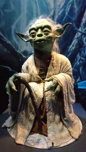 Jedi master Yoda uit Star wars