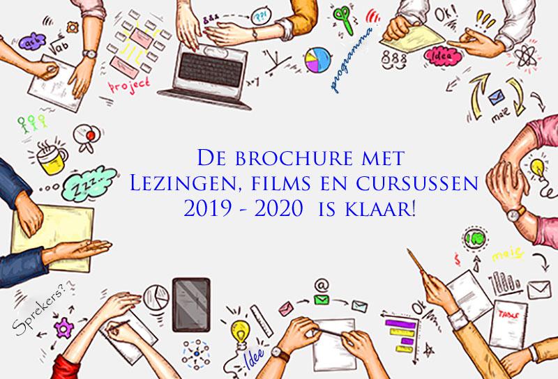 Theosofie in Den Haag, lezingen en cursussen 2019 2020 brochure is af