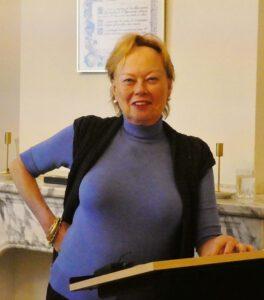 lezing in Loge Den Haag TVN door Caroline de Westenholz